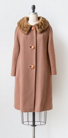 vintage 1960s coat | 60s coat | Set In the Classics Coat $148