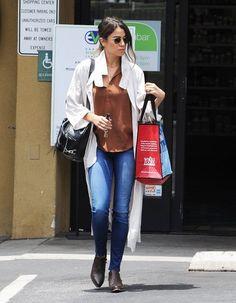 Nikki Reed Running Errands In West Hollywood