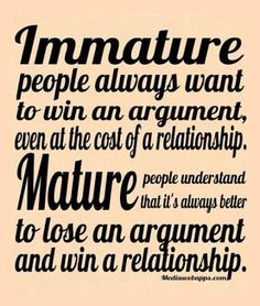 don't lose the relationship winning the argument - Google Search