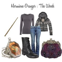 """""""Hermione Granger : The Woods"""" by nearlysamantha on Polyvore"""