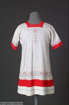 Child's dress, 1920's.  Mode Museum.