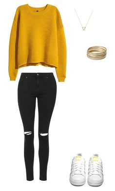 """BACK TO SCHOOL"" by adrianaadd on Polyvore featuring moda, Topshop, H&M, adidas Originals, Wanderlust + Co, Steve Madden, school e topshop"