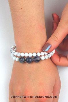 Check out this gorgeous Beaded Memory Wire Bracelet Kit and make your own bracelet now #braceletkit #DIYbracelet #jewelrykit #handmadejewelry Jewelry Kits, Jewelry Supplies, Diy Jewelry, Jewelry Making, Unique Jewelry, Memory Wire Bracelets, Beaded Bracelets, Handmade Jewelry Tutorials, Make Your Own Bracelet
