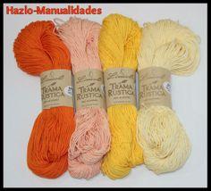 ¡Somos especialistas! Disponemos de materiales únicos en el mercado como esta colección de colores de TRAMA RÚSTICA.