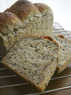 食物繊維た~っぷりな◆胡麻食パン◆ by doiko [クックパッド] 簡単おいしいみんなのレシピが246万品