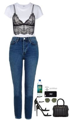 """Sans titre #606"" by mikashh ❤ liked on Polyvore featuring RE/DONE, Topshop, Yves Saint Laurent, Givenchy, Ahlem, October's Very Own, Mark Broumand, Zac Posen, Roberto Marroni and BERRICLE"