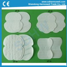 Disposable underarm sweat pads for sweat absorbing (Underarm Sweat Pad) - China underarm sweat pad, OEM
