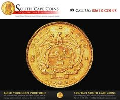 In when Jan van Riebeeck founded the settlement at the Cape, the Spanish dollar 8 Real was the basic coin in use in the Netherlands. The VOC received permission from Spain to use similar pieces of eight, but with different designs for trade with the East. Pieces Of Eight, Sell Coins, Coin Dealers, Rare Coins, Coin Collecting, Cape, Investing, Afrikaans, History