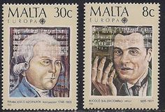 Malta 1985 - Postage Stamps of EUROPA85: