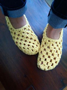 back to school dorm slippers crochet granny by LittleAsiaGirl 100% acrylic yarn  $21.96