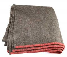 British Grey Wool Blanket (New) – Barre Army/Navy Store Online Store
