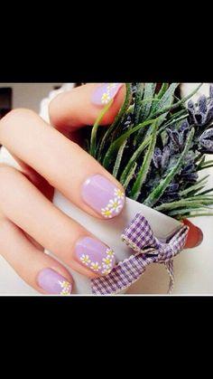 Great Spring nail art!!!