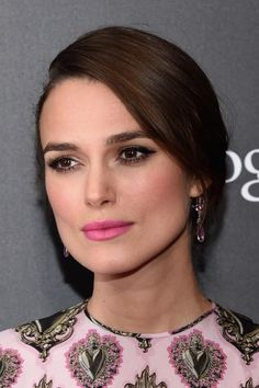 """Last night I was fortunate enough to rub elbows with New York's elite at the premiere of """"The Imitation Game""""—hello Anna Wintour, Mario Testino, and Steven Klein—but all eyes were on Keira Knightley. Benedict Cumberbatch's stunning female co-star in this World War II-era film (go see it on November 28"""