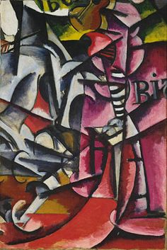 Collection Online | Liubov Popova. Untitled. ca. 1915 - Guggenheim Museum