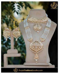 Pakistani Bridal Jewelry, Indian Wedding Jewelry, Indian Bridal, Indian Baby, Bridal Lehenga, Fancy Jewellery, Gold Jewellery Design, Gold Jewelry, Bridal Jewellery