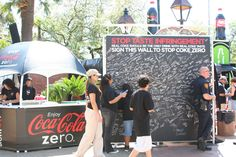 Green screen photography set up for Coke Zero. #experiential #eventmarketing #eventphotography #greenscreen #photobooth