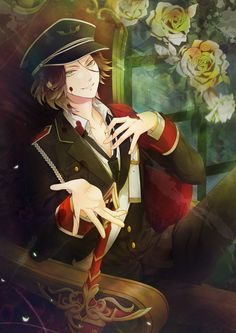 Let's spread diabolik lovers to all over the world with us to get an anime stuff you want free. Mystic Messenger, Cd Drama, Diabolik Lovers Laito, Manga Anime, Anime Art, Anime Kiss, Manga Boy, Reiji Sakamaki, Hot Vampires
