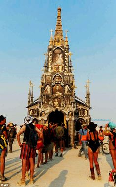 'Burning Man' Draws 68,000 To America's Largest Pagan Cult Gathering - Now The End Begins