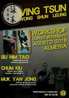 BUDOKAN blog de artes marciales : Ving Tsun intensivo en Almería