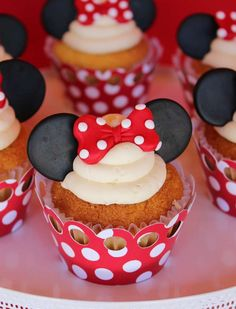 Magical Minnie Mouse in Red | CatchMyParty.com