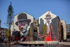 Soyzone Gonzales New Mural - Charleroi, Belgium
