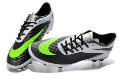 Freshly 2014 World Cup Nike Hypervenom Phantom FG White Black Fluorescent  Green  63.99 1192a917cd856