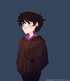 Just Nico di Angelo walking across your dash  | art by dellbelle39