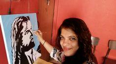 Oil Pastel Paintings, T Shirts For Women, Fashion, Moda, Fashion Styles, Fasion