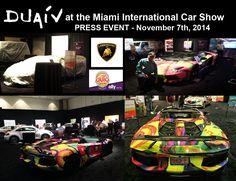 DUAIV Lamborghini at the Miami International Auto Show, 2014