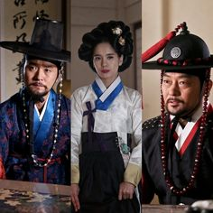 First stills of Lee Sung Jae (Cho Gwan Woong), Jung Hye Young (Chun Soo Ryun) & Jo Sung Ha (Dam Pyeong Joon) #GuFamilyBook
