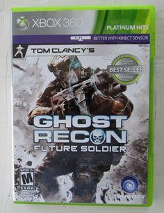 Tom Clancy's Ghost Recon: Future Soldier (Microsoft Xbox 360, 2012)