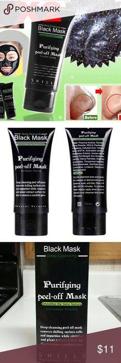 **Get 2 Shills Black Mask Peel Black Head Remover Shills Black Mask, Header, Black Peel Off Mask, Chocolate Face Mask, Cleansing Mask, Skin Mask, Clogged Pores, Charcoal Mask, Hair Gel
