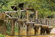 Ancient Chinese water circulation system