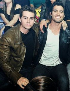 Teen Wolf sidekicks, Stiles and Derek