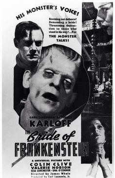 The Bride of Frankenstein.