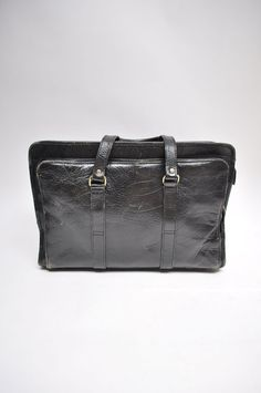 vintage leather satchel bag handbag by goodbyeheartwoman on Etsy
