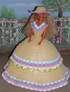 Crochet Fashion Doll Barbie  Pattern 379 от JudysDollPatterns