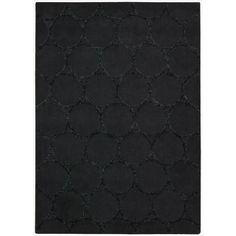 Nourison Hand-tufted Barcelona Black Rug (3'6 x 5'6)   Overstock.com Shopping - The Best Deals on 3x5 - 4x6 Rugs