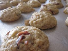 it's peanut butter shelly time!: orange oatmeal cookies with cranberries and white chocolate