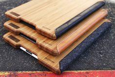 Stijlvolle Bamboe hoes voor de nieuwe iPad $158,00