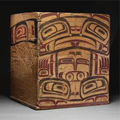 Tsimshian Painted Wood Box | lot 73 | Sotheby's 2009