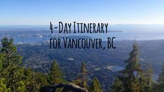 A 4-Day Itinerary for one of the world's greatest cities!