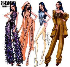 Rihanna - Anti World Tour Collection - by Armand Mehidri