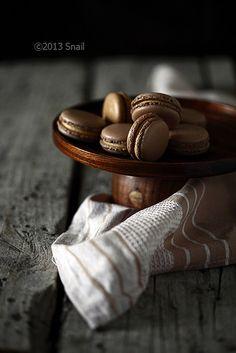 #coffee #macarons