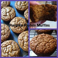 Fit and Healthy with Debbie: Pumpkin Protein Muffins