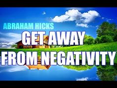 Abraham Hicks - How To Get Away From Negativity The material in this video and other Abraham Hicks materials are copyrighted by Esther Hicks and Jerry Hicks. Louise Hay, Spiritual Guidance, Spiritual Wisdom, Career Quotes, Success Quotes, How To Improve Relationship, Morning Affirmations, Abraham Hicks Quotes, Law Of Attraction Tips