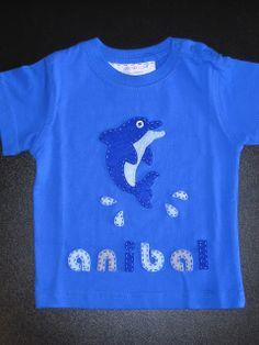 cocodrilova: camiseta delfin