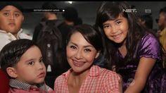 Sibuk Syuting, Tessa Kaunang Tidak Sempat Dampingi Anak Belajar