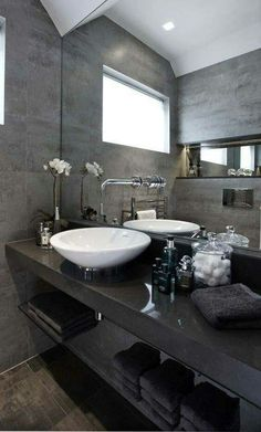 Fresh contemporary and luxury bathroom design ideas for your home. See more clicking on the image. Interior Design Minimalist, Contemporary Interior, Contemporary Chandelier, Contemporary Stairs, Contemporary Cottage, Kitchen Contemporary, Contemporary Apartment, Contemporary Architecture, Contemporary Design