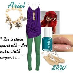 Disney Princess Inspiration: Ariel (The Little Mermaid)